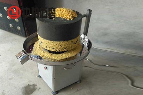 手动石磨机械